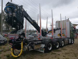 Kesla 2112T truck crane