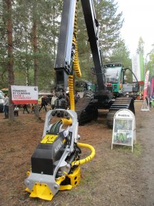 Kesla RH 25 on Prosilva harvester